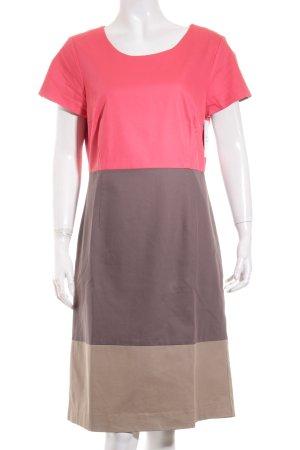More & More Kleid magenta-graubraun Elegant