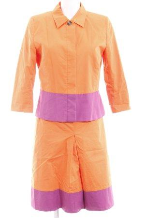 More & More Kostüm orange-lila extravaganter Stil
