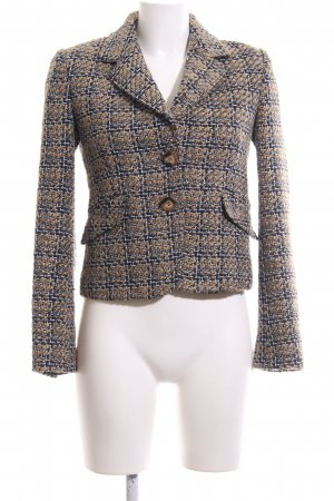 More & More Ladies' Suit black-bronze-colored check pattern business style