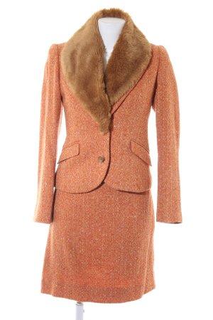 More & More Tailleur Motif de tissage style anglais