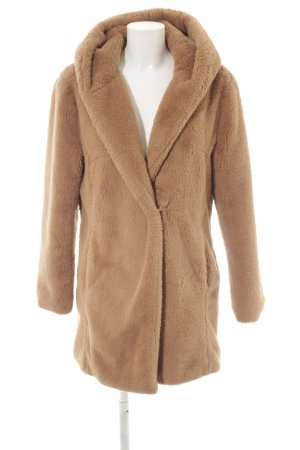 More & More Fake Fur Coat light brown fluffy