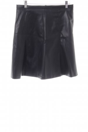 More & More Kunstlederrock schwarz extravaganter Stil