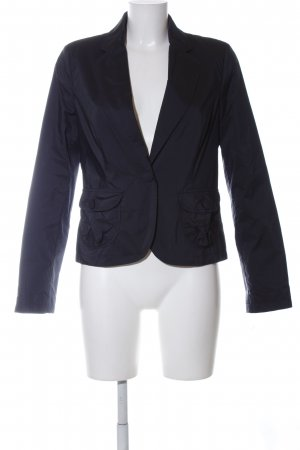 More & More Kurz-Blazer blau Business-Look