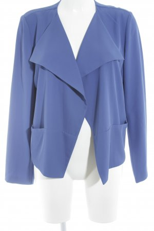 More & More Kurz-Blazer blau Business-Look