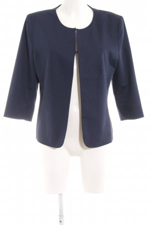 More & More Kurz-Blazer dunkelblau Business-Look