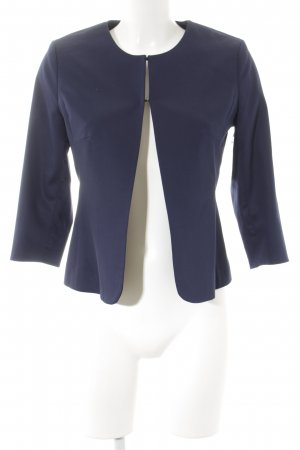 More & More Kurz-Blazer dunkelblau Business-Look