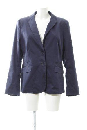 More & More Blazer court bleu foncé style d'affaires