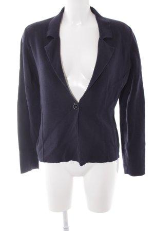 More & More Korte blazer donkerblauw minimalistische stijl