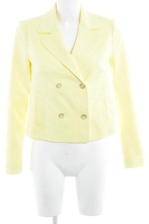 More & More Blazer court jaune style d'affaires