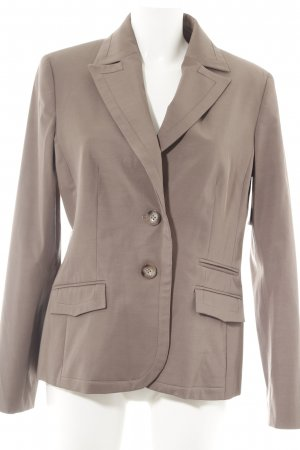 More & More Kurz-Blazer graubraun Business-Look