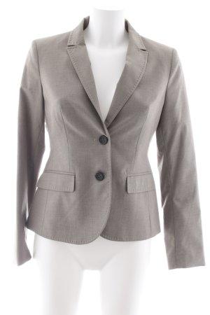 More & More Kurz-Blazer graugrün meliert Business-Look