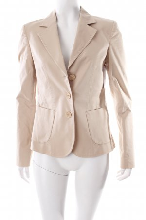 More & More Kurz-Blazer hellbeige Business-Look