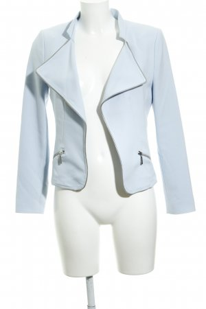 More & More Kurz-Blazer himmelblau Business-Look