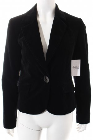 More & More Kurz-Blazer schwarz Business-Look