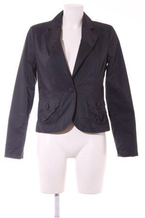 More & More Kurz-Blazer schwarz-dunkelblau Casual-Look