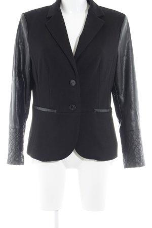 More & More Kurz-Blazer schwarz schlichter Stil