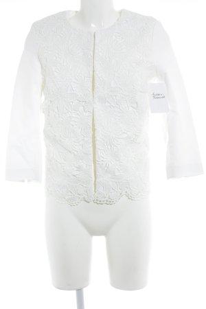 More & More Kurz-Blazer weiß Elegant