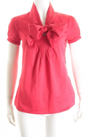 More & More Kurzarm-Bluse rot Elegant