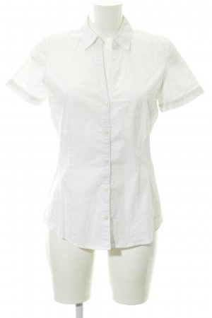 More & More Short Sleeve Shirt white casual look