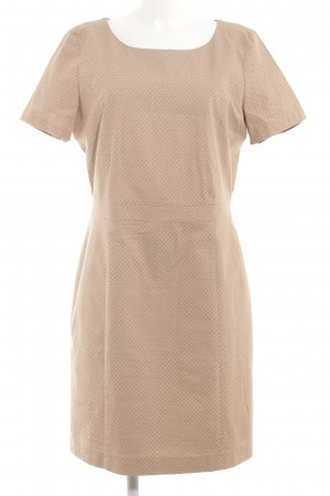 More & More Kurzarmkleid beige-wollweiß Elegant