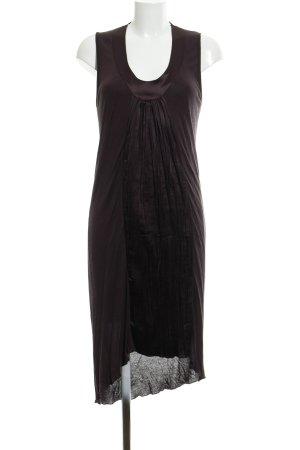 More & More Kurzarmkleid braunviolett Elegant
