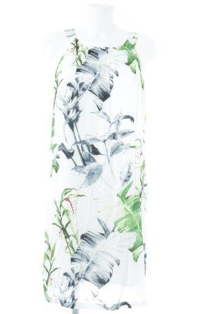 More & More Kurzarmkleid florales Muster Business-Look
