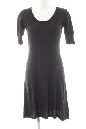 More & More Robe à manches courtes noir style simple