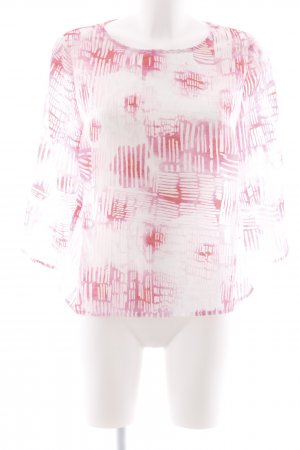 More & More Blouse met lange mouwen abstract patroon casual uitstraling
