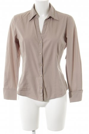 More & More Langarm-Bluse beige Business-Look