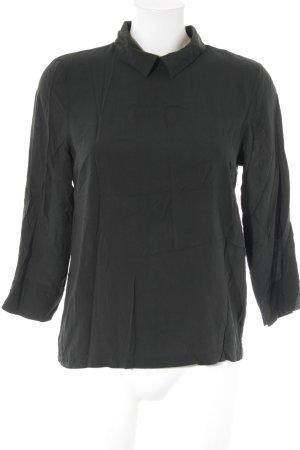 More & More Langarm-Bluse dunkelgrün Elegant