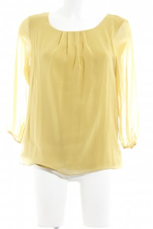More & More Langarm-Bluse limettengelb Elegant