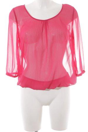 More & More Langarm-Bluse magenta Casual-Look