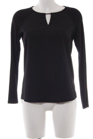 More & More Langarm-Bluse schwarz Elegant