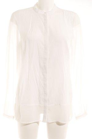 More & More Langarm-Bluse weiß Elegant