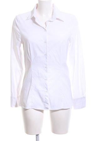 More & More Camisa de manga larga blanco estilo «business»