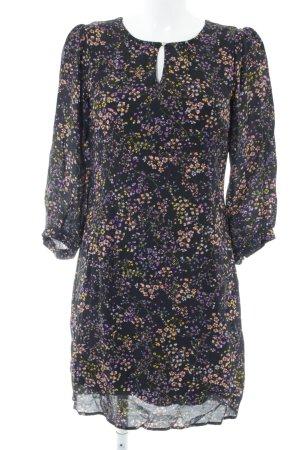 More & More Robe à manches longues motif de fleur style décontracté