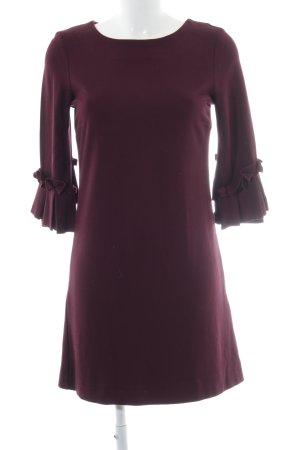 More & More Robe à manches longues rouge mûre style d'affaires