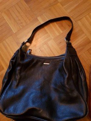 More & More Gekruiste tas zwart