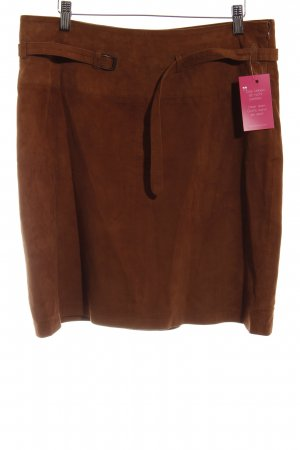 More & More Lederrock cognac Casual-Look