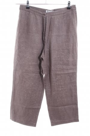 More & More Pantalón de lino marrón look casual