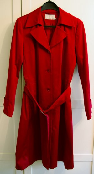 More & More, leuchtend roter Trenchcoat, Gr. 42, kaum getragen