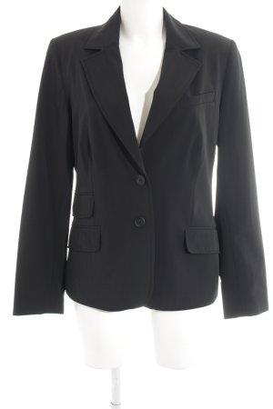 More & More Blazer long noir style d'affaires