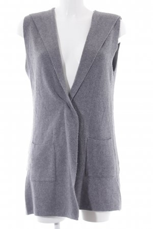 More & More Long Knitted Vest light grey casual look