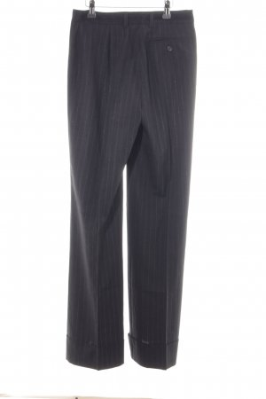 More & More Marlene Trousers dark grey pinstripe business style