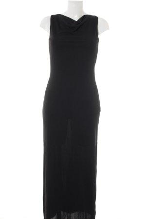 More & More Maxikleid schwarz minimalistischer Stil