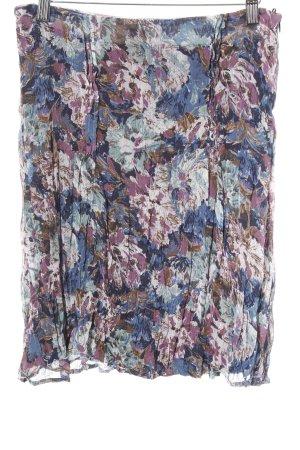 More & More Midirock florales Muster Casual-Look