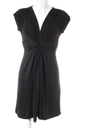 More & More Minikleid schwarz schlichter Stil