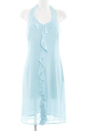 More & More Abito con corpetto blu elegante