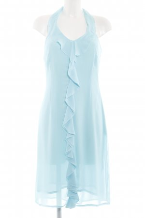 More & More Halterjurk blauw elegant