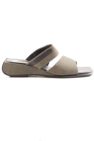 More & More Sandale d'extérieur gris brun-noir moucheté style décontracté